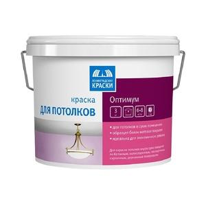 Краска в/д для потолка Оптимум (3 кг)