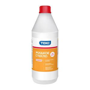 Жидкое стекло натриевое Текс (1,3 кг)