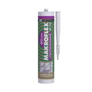 Клей ультрасильный Makroflex Bio Line MF190, прозрачный (0,28 кг)