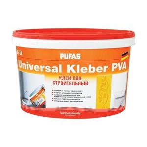 Клей ПВА Pufas Universal Kleber cтроительный (10 кг)