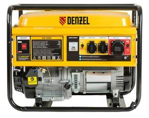 Бензиновый генератор 8,5 кВт 220В/50Гц 25 л DENZEL GE 8900