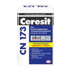 Универсальная самовыравнивающаяся смесь Ceresit CN 173, 20 кг