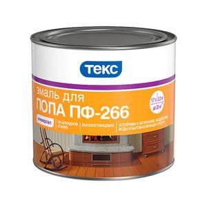 Эмаль для пола Текс ПФ-266 Универсал золотисто-коричневая (2,2 кг)
