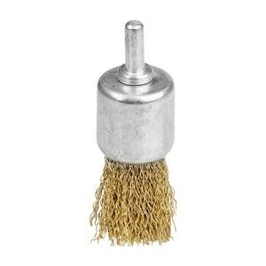 Щетка-крацовка Biber чаша 17 мм для дрели