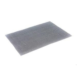 Покрытие ковровое Baltturf 128 щетинистое серый металлик 0,90х15 м