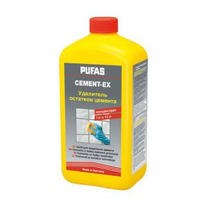 Удалитель цементного налета Pufas Cement-Ex N112-R 1 л