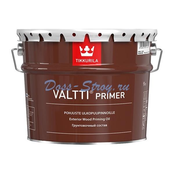 Антисептик для древесины Tikkurila Valtti Primer грунтовочный (9 л)