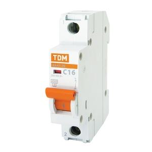 Выключатель автоматический ВА 47-29, 4,5кА, С 16А, 1П