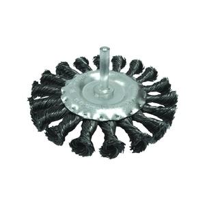 Щетка-крацовка Biber дисковая витая 75 мм для дрели