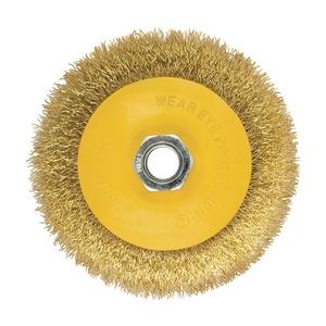 Щетка-крацовка Biber дисковая 100 мм М14 для УШМ