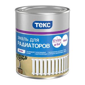 Эмаль для радиаторов Текс алкидная (0,9 кг)