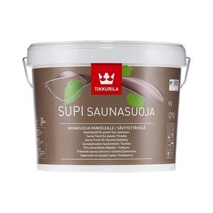 Защитный состав для саун Tikkurila Supi Saunasuoja полуматовый 9 л