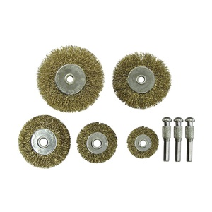 Набор щеток дисковых Biber 70990 25,38,63,75 мм для дрели