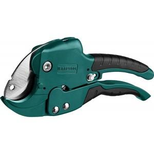 """Ножницы KRAFTOOL GX-700 2-в-1 для всех видов пластиковых труб и небольших плоских пластиковых деталей d=42 мм (1 5/8"""")"""