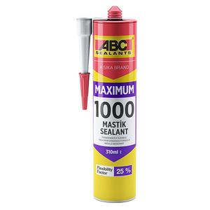 Герметик силиконизированный АBC Sealanst 1000 MAXIMUM