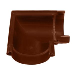 Угол желоба универсальный Мурол, коричневый