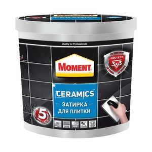 Затирка Moment Ceramics, белый, 1 кг