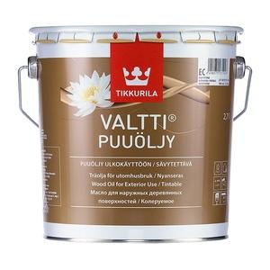 Масло алкидное для дерева Tikkurila Valtti Puuoljy EC (2,7 л)