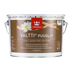 Масло алкидное для дерева Tikkurila Valtti Puuoljy EC (9 л)