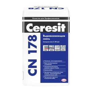 Легковыравнивающаяся смесь Ceresit CN 178, 25 кг