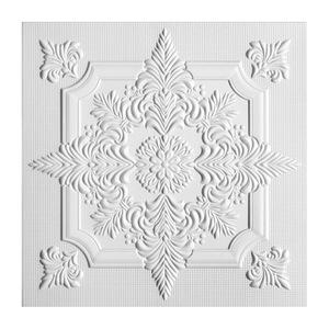 Плита потолочная Solid С2056 0,5х0,5 м 2 м² уп. 8 шт белая