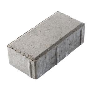 Плитка тротуарная Брусчатка 200х100х60мм серый