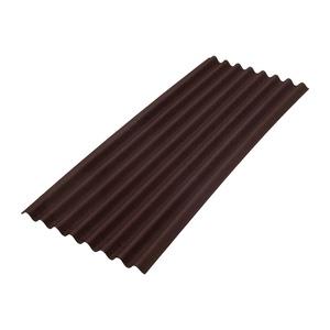 Лист ONDULINE Смарт 950х1950 мм коричневый