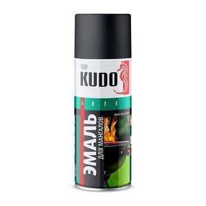 Эмаль для мангалов Kudo KU-5122 аэрозольная термостойкая (0,52 л)