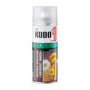 Покрытие декоративное Kudo KU-9031 для стекла Эффект инея (0,52 л)