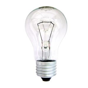 Лампа накаливания Е27, груша, 60Вт, 230В, прозрачная