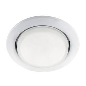 Светильник встраиваемый круглый d=75мм, GX53, 13Вт, 230B, белый