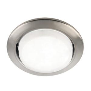 Светильник встраиваемый круглый d=75мм, GX53, 13Вт, 230B, сатин никель