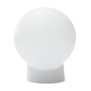 Светильник НББ E27, 60Вт, 230В, IP20, шар, прямое основание, пластик