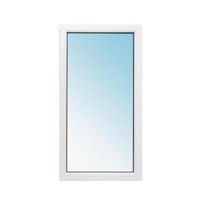 Окно металлопластик 1160х1000 мм глухое