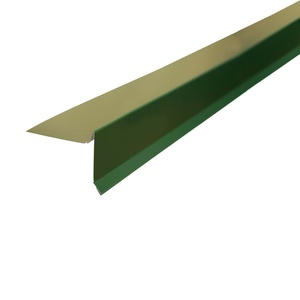 Планка торцевая для гибкой черепицы (RAL 6005) зеленый мох (2 м)