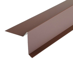 Планка торцевая для гибкой черепицы (RAL 8017) корич. шоколад (2 м)