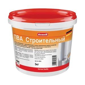 Клей ПВА Pufas Decoself cтроительный пластификатор (5 кг)