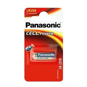 Элемент питания алкалиновый Panasonic, тип LRV08/А23, 12В, 55мА*ч