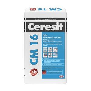 Клей для плитки Ceresit CM 16, 25 кг