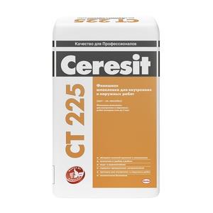 Шпаклевка фасадная финишная Ceresit СТ 225, 25 кг