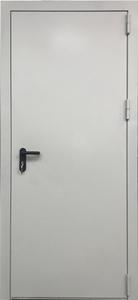 Однопольная глухая дверь EI 60 RAL 9018 с антипаникой 01