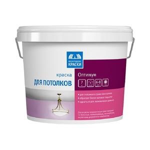 Краска в/д для потолка Оптимум (7 кг)