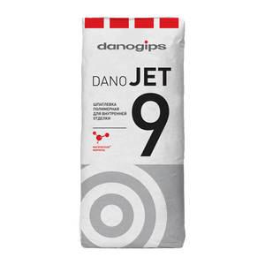 Финишная полимерная шпаклевка Danogips Dano Jet 9, 20 кг