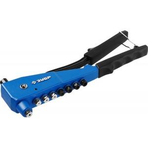 Заклепочник ЗУБР Профессионал К-М6 для резьбовых М3-М6 для вытяжных 2.4-4.8 мм - алюминий, сталь; 2.4-4.0 мм