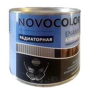 Эмаль для радиаторов Novocolor белая (1,9 кг)