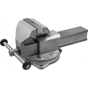Тиски слесарные ЗУБР ЭКСПЕРТ 140 мм