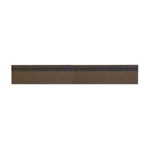 Конек/карниз для гибкой черепицы коричневый микс (уп/3 м2)
