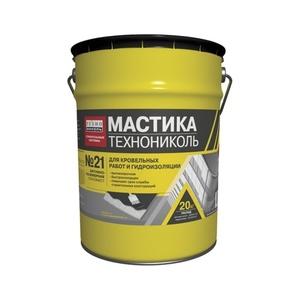 Мастика БПХ кровельная битумно-полимерная Технониколь №21 (Техномаст), 20 кг