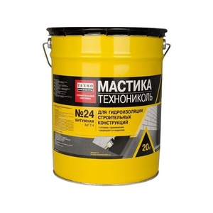 Мастика битумная гидроизоляционная Технониколь №24 (МГТН), 20 кг