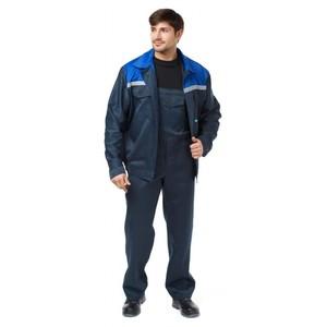 Костюм СТАФФ куртка и полукомбенизон темно-синий